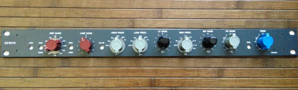 Channel strips / preamps – Kadaka Recording Studio in Tallinn