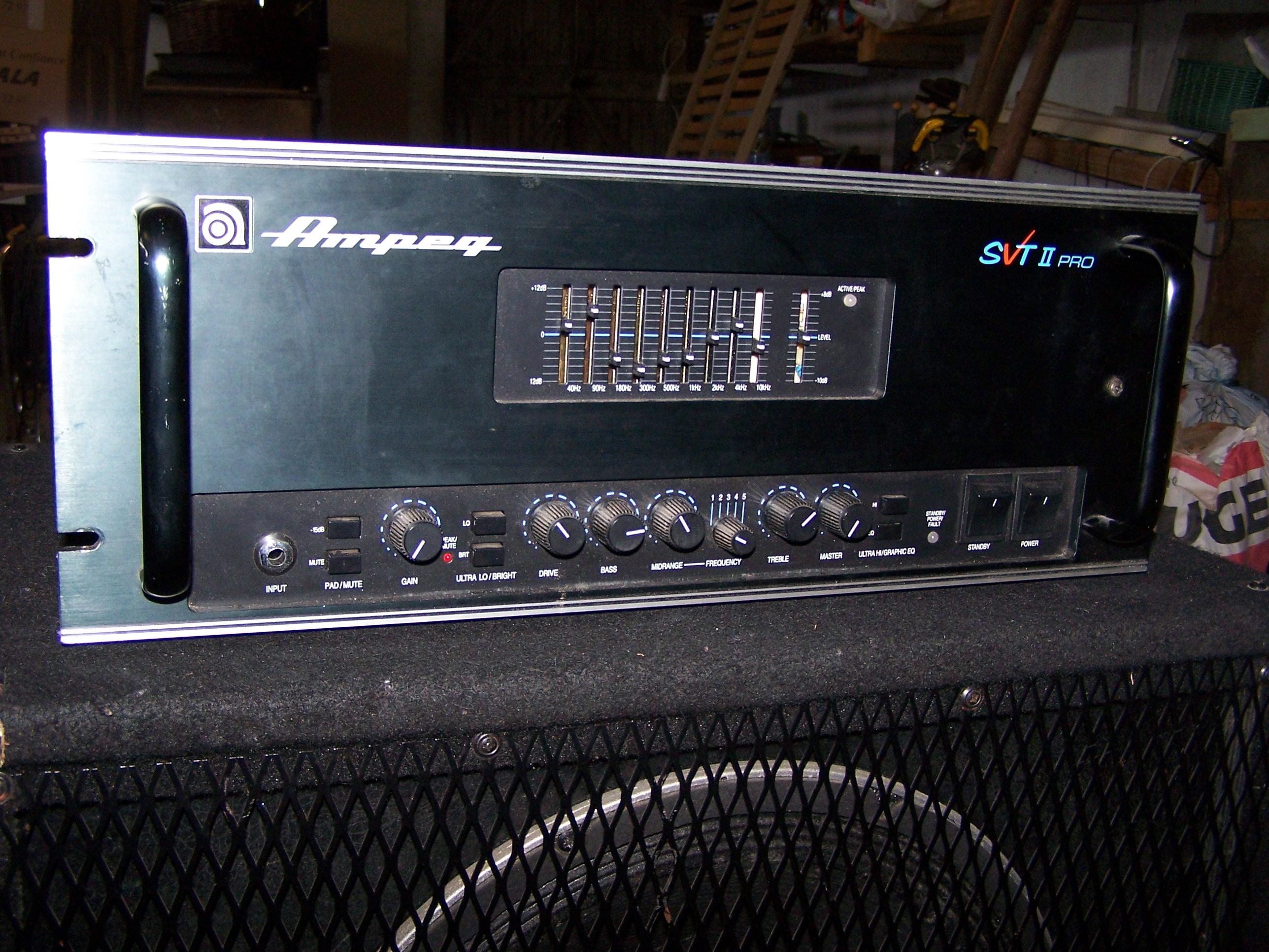Ampeg Svt Ampeg Svt Pro Series Svt-2