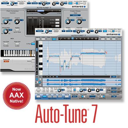 auto tune 7 antares audio technology auto tune 7 audiofanzine. Black Bedroom Furniture Sets. Home Design Ideas