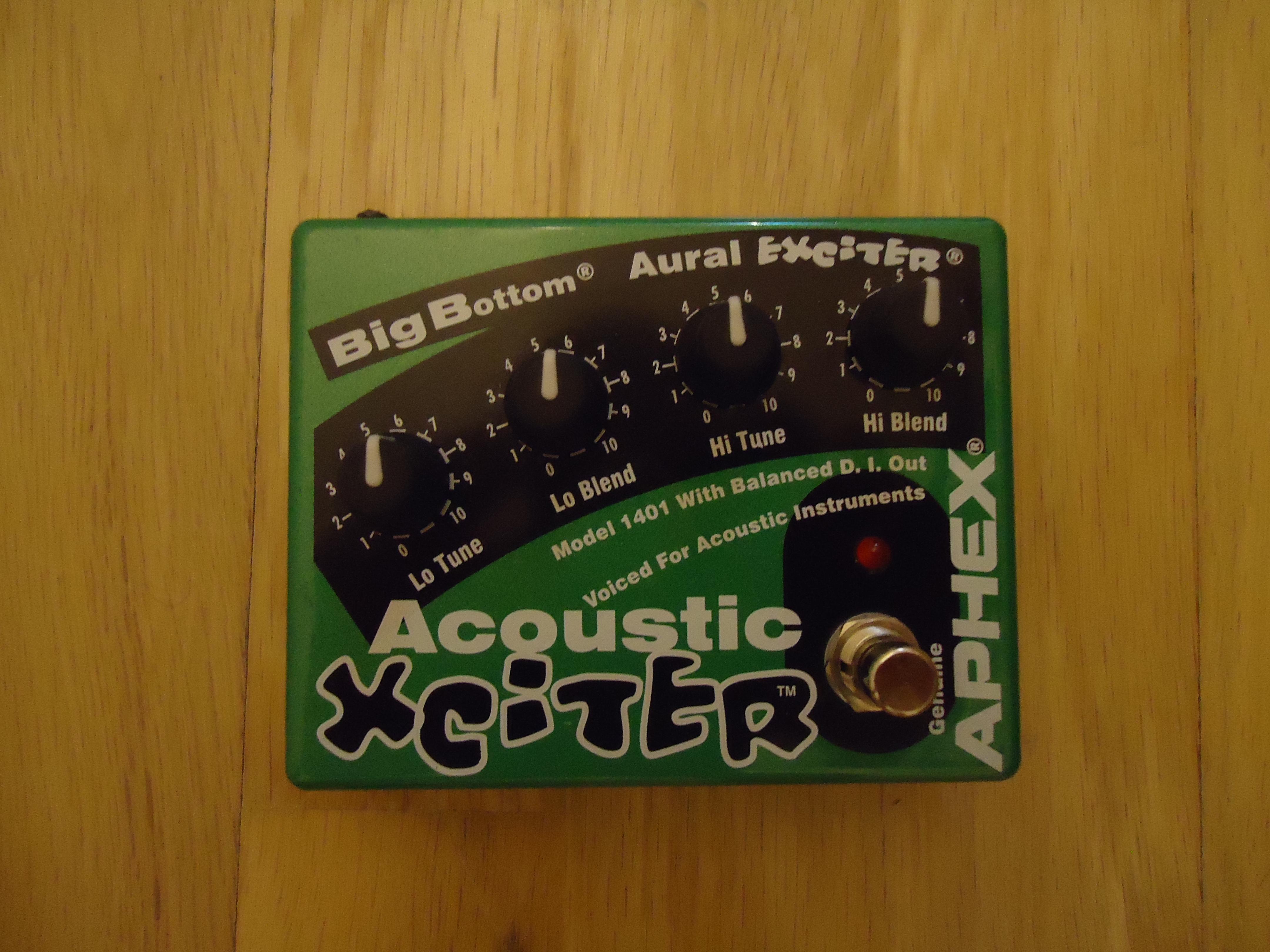 Aphex Acoustic Xciter Pedal | Musician's Friend