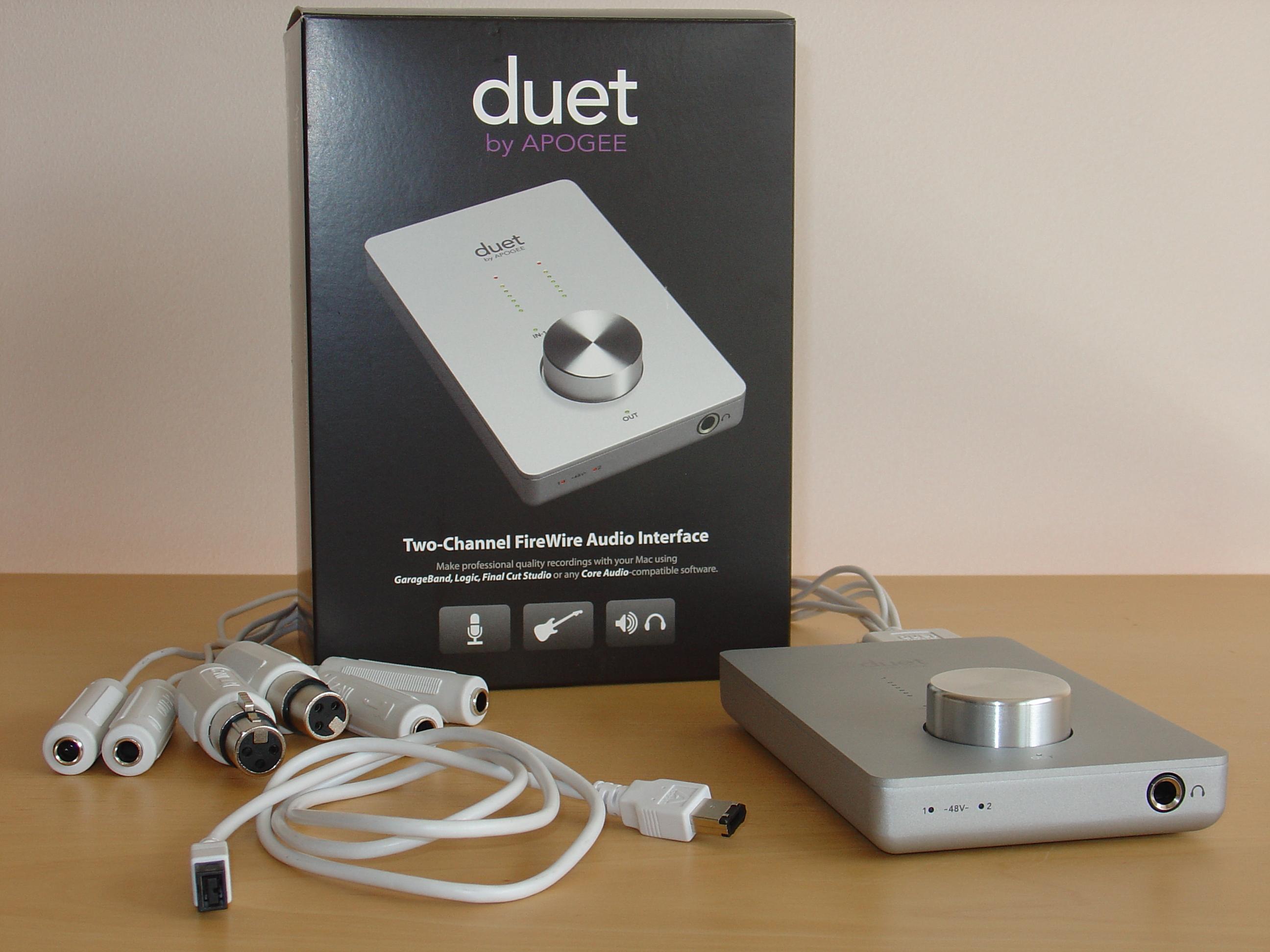 Apogee Duet image (#251022) - Audiofanzine