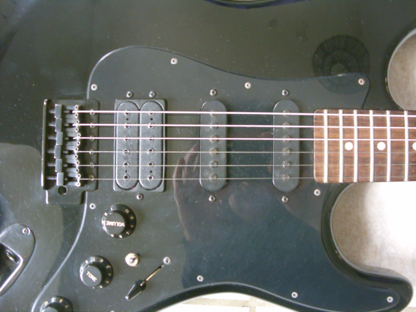 guitare electrique applause