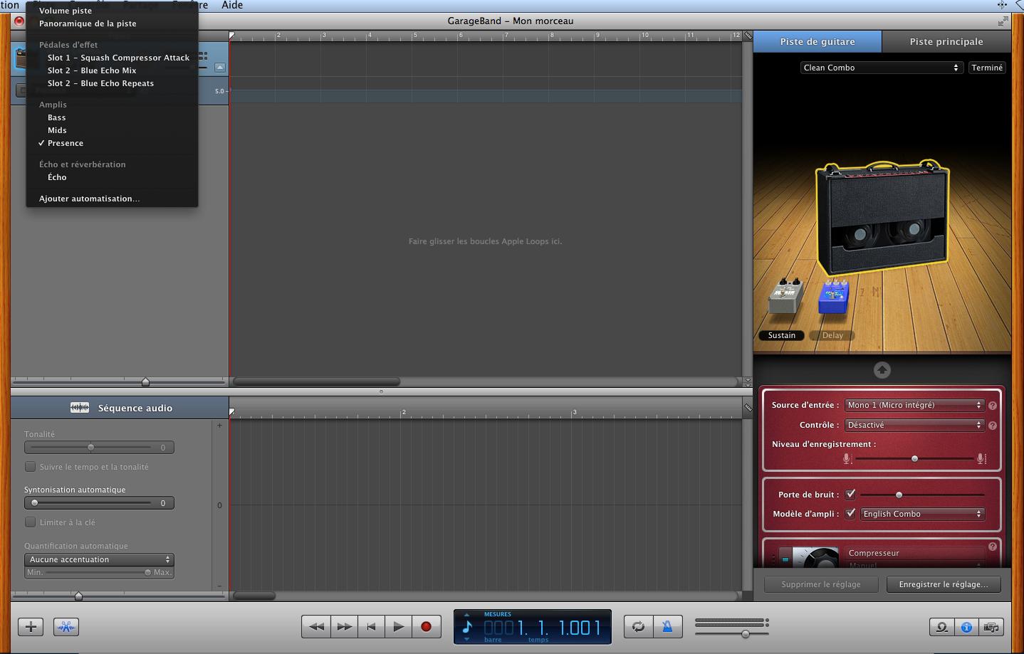 GARAGEBAND Apple GarageBand Audiofanzine