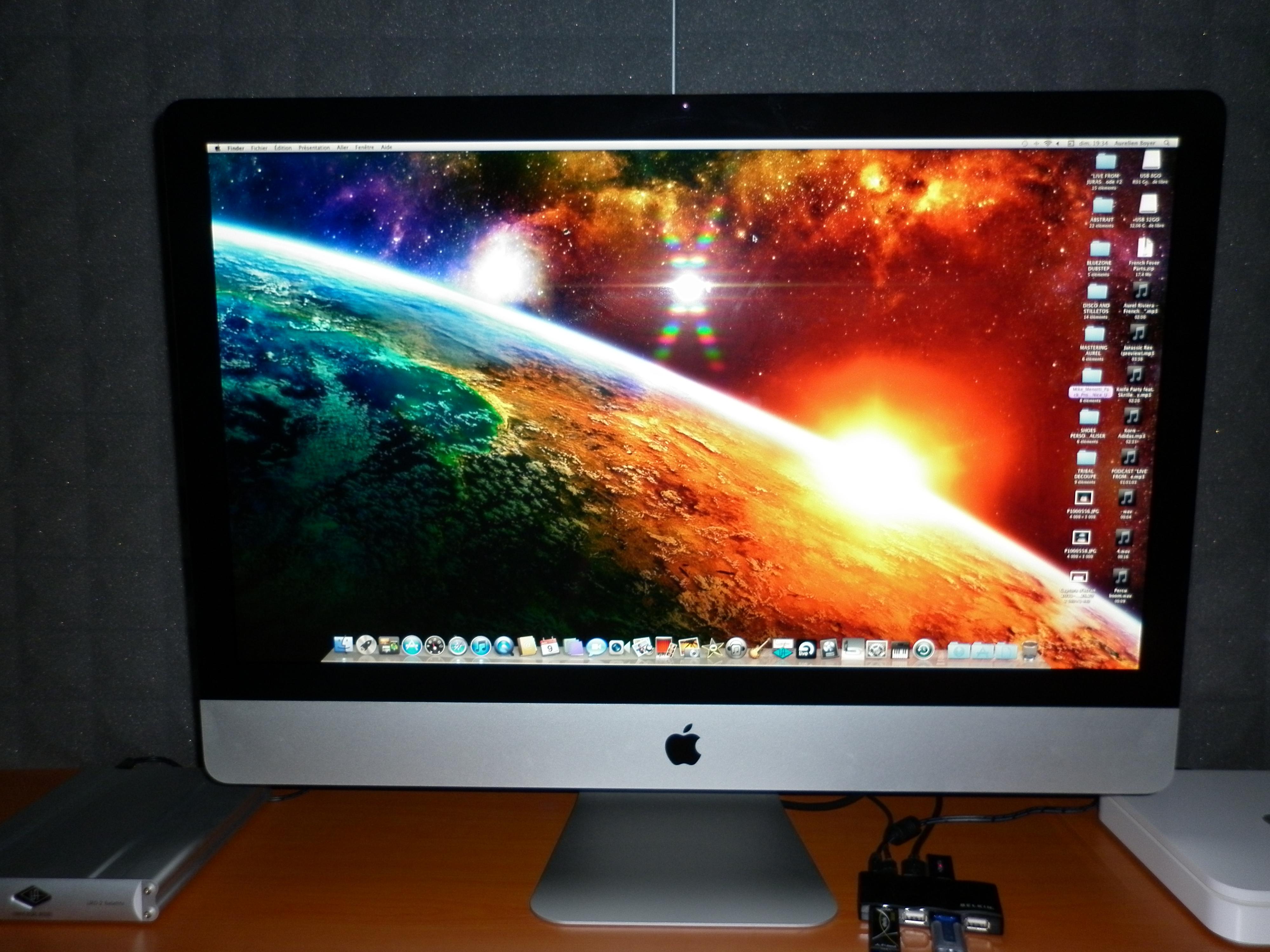 ordinateur bureau apple imac  ghz quad core intel i gb medias photos aplaym