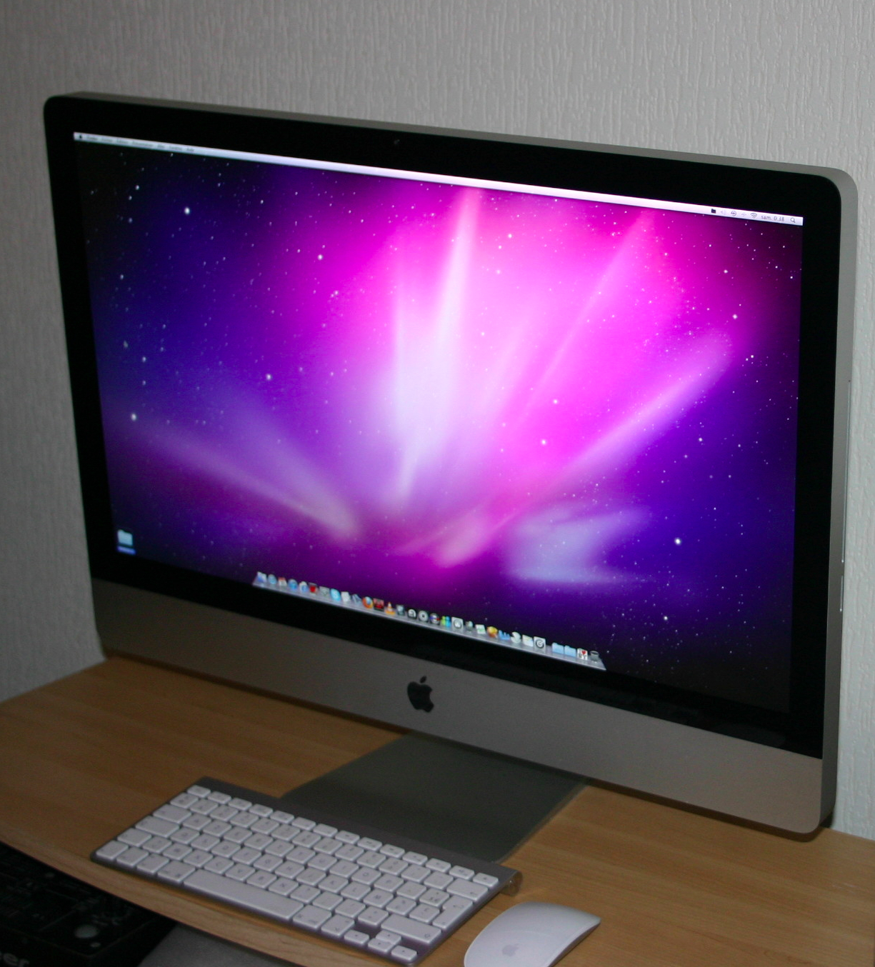 ordinateur bureau apple imac  medias photos aplaym
