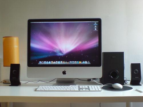 apple desktop iMac Intel Core  Duo Ghz medias pictures aplaym