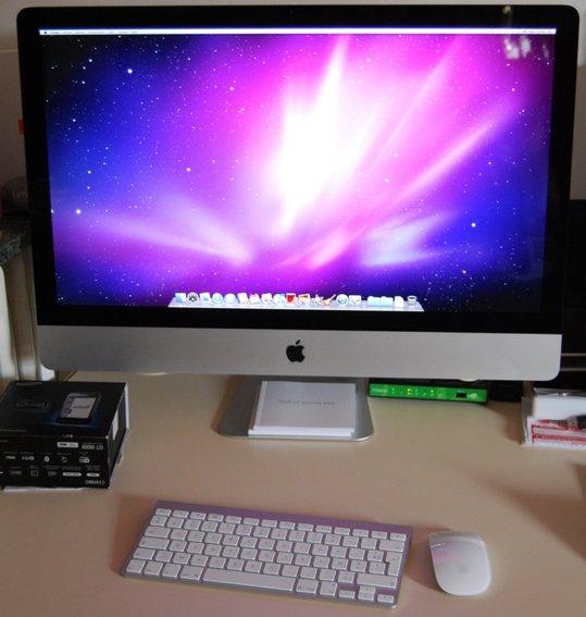apple imac intel quad core i5 27 2 66 ghz image 413461. Black Bedroom Furniture Sets. Home Design Ideas