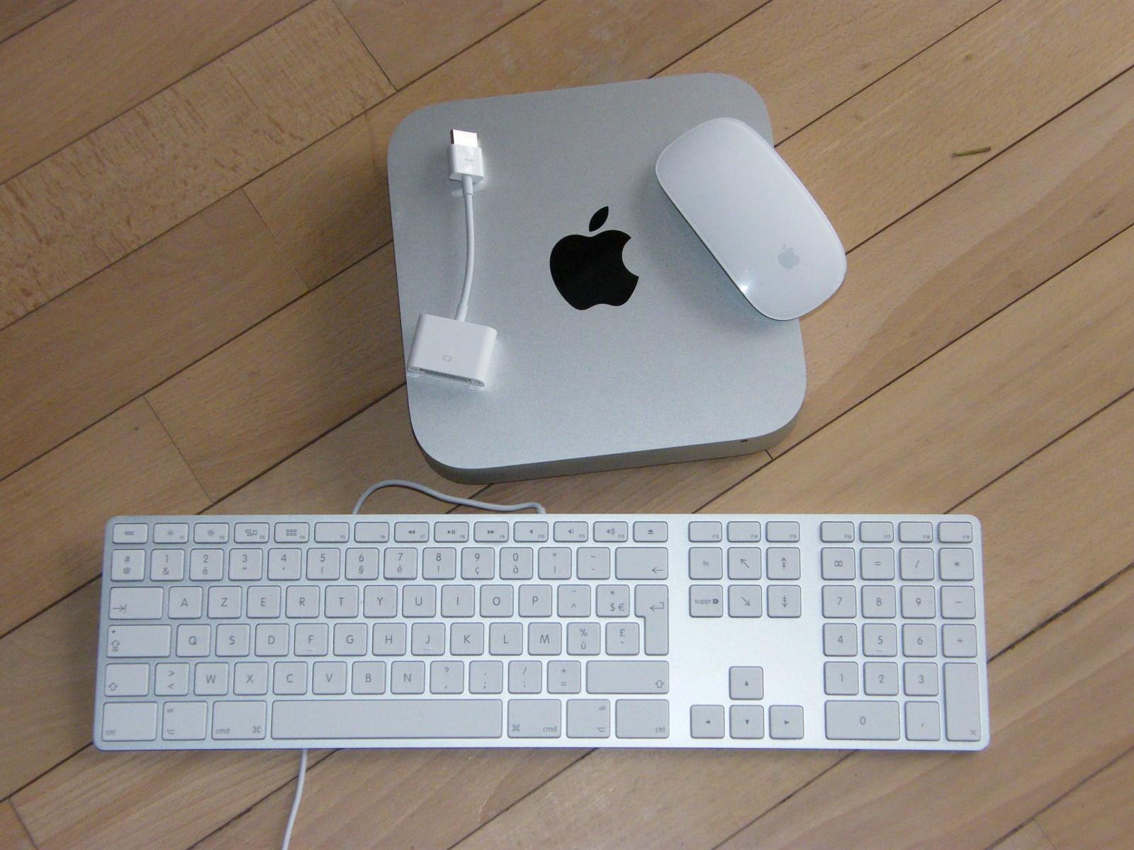 apple mac mini intel i7 2 6ghz image 586988 audiofanzine. Black Bedroom Furniture Sets. Home Design Ideas