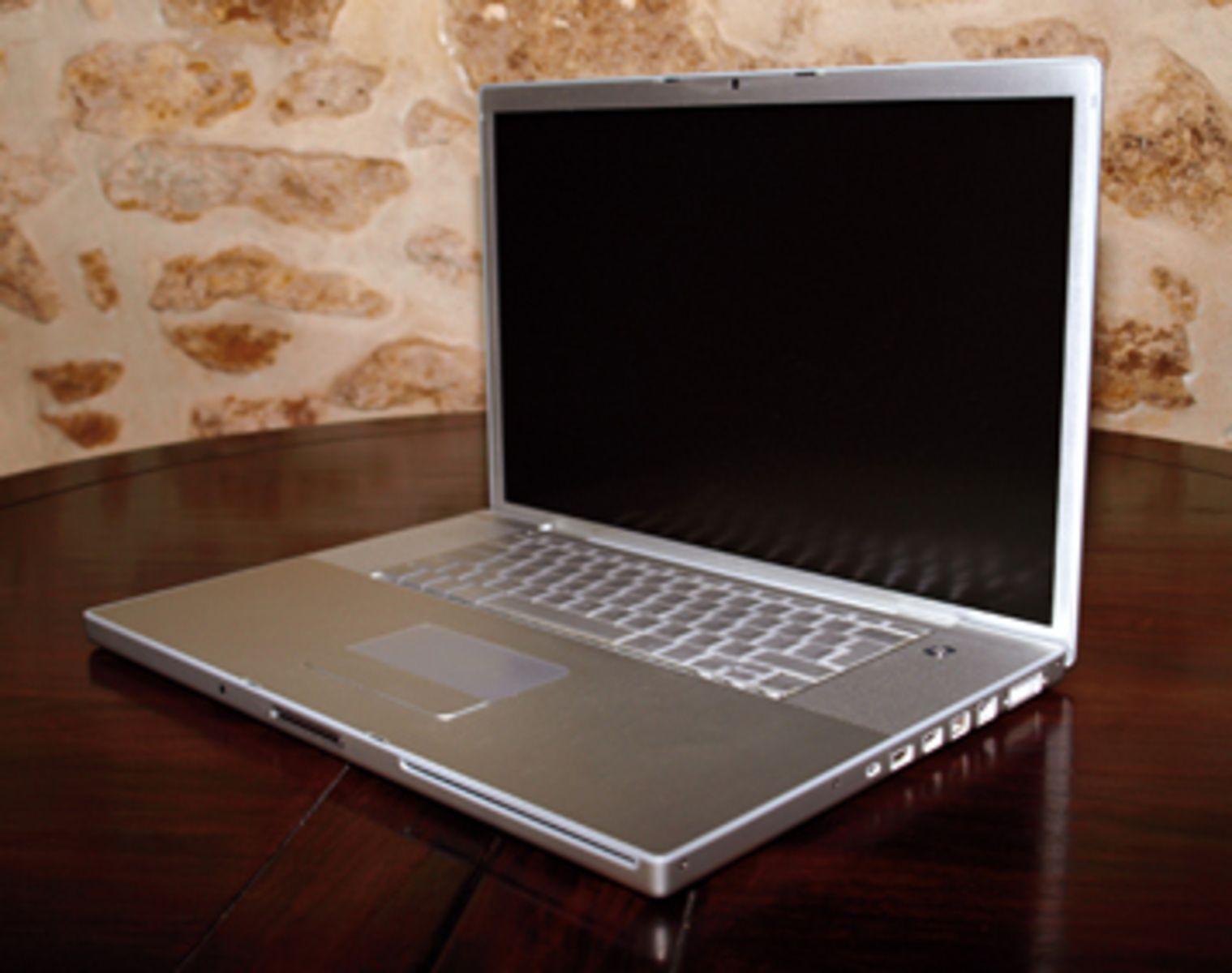 photo apple macbook pro 17 ghz intel core duo 120go ram 2go apple macbook pro 17. Black Bedroom Furniture Sets. Home Design Ideas