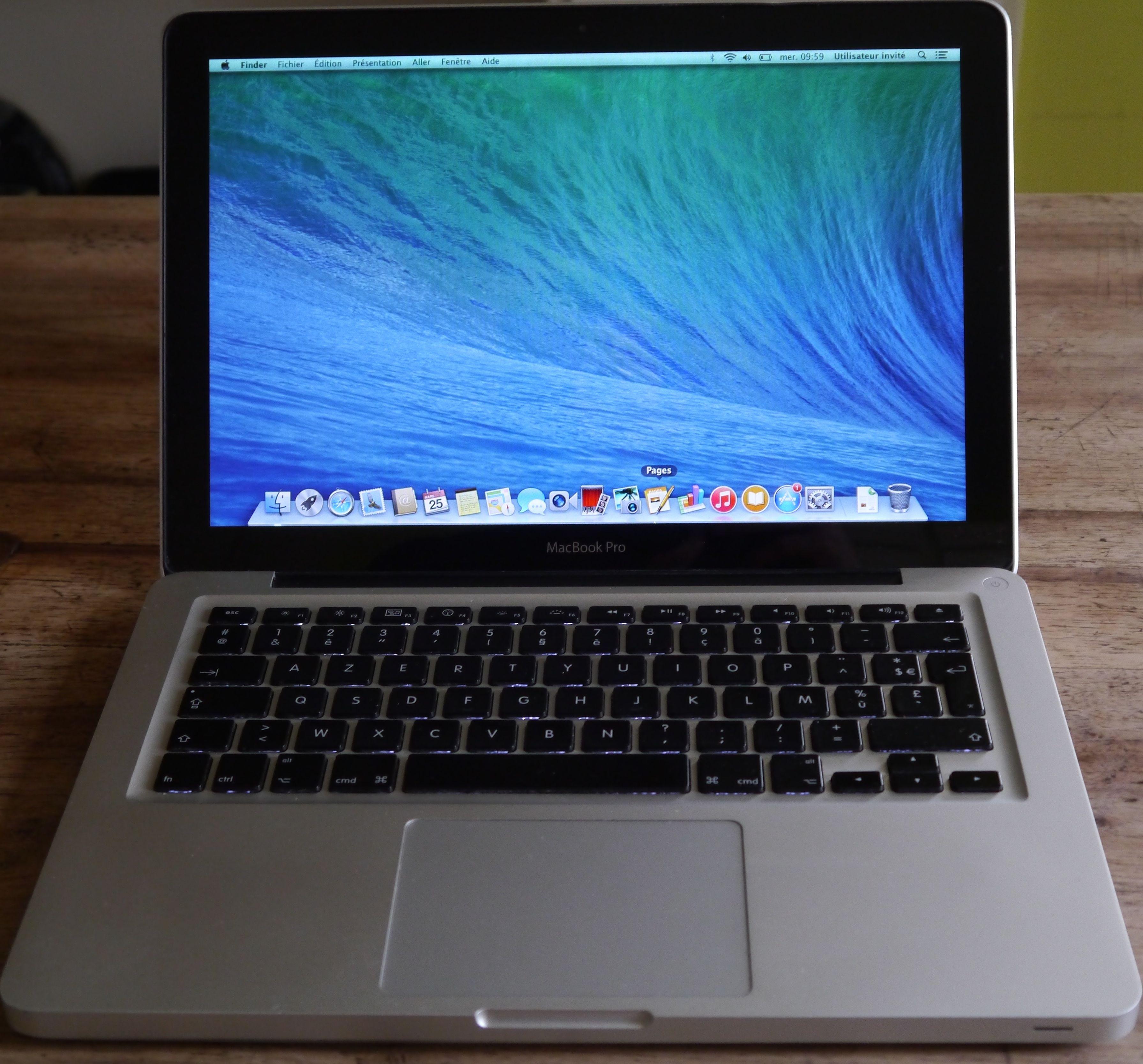 macbook pro unibody 13 3 2 26 ghz apple audiofanzine. Black Bedroom Furniture Sets. Home Design Ideas