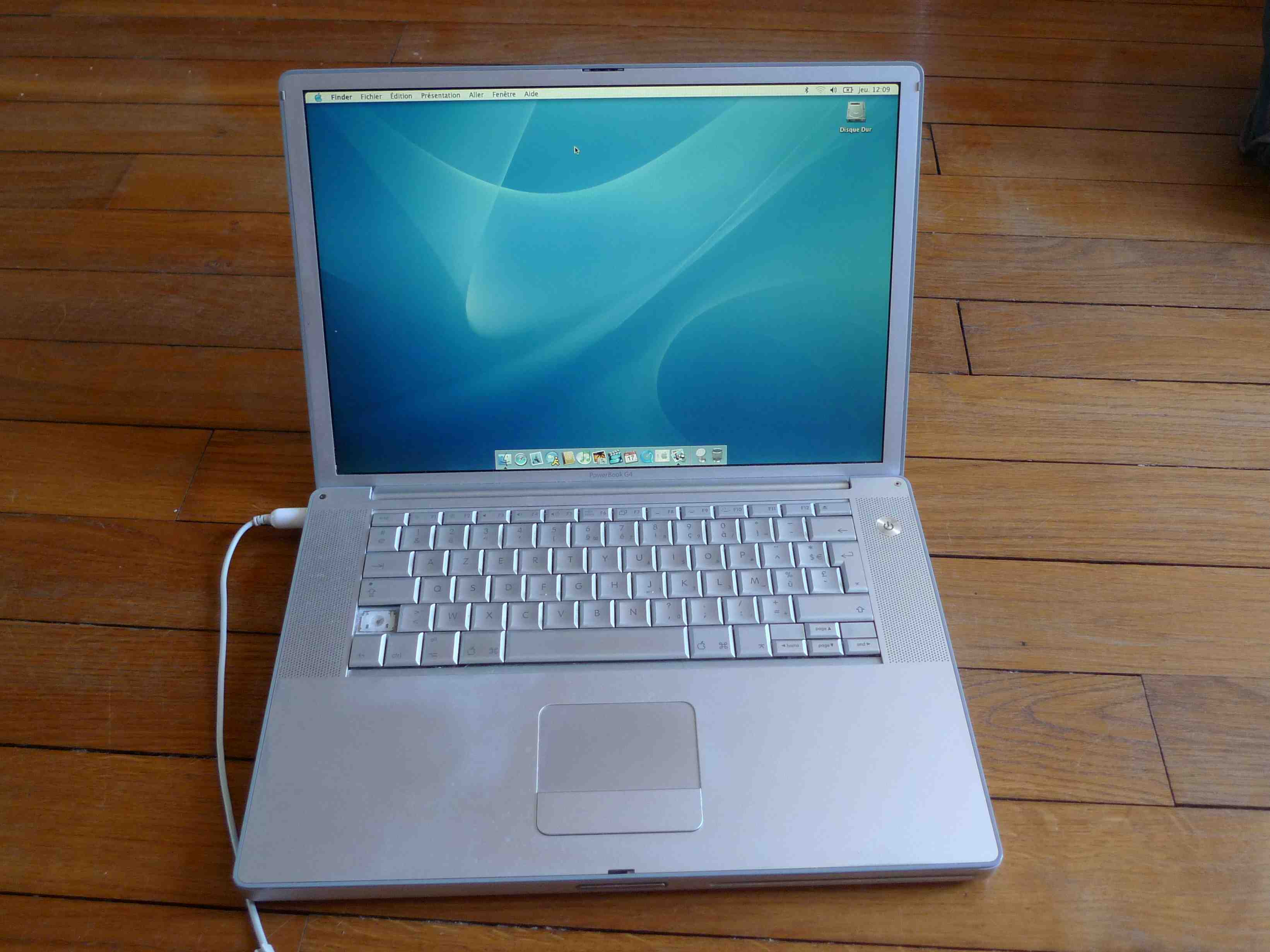 ordinateur portable apple powerbook g  ghz medias photos aplaym