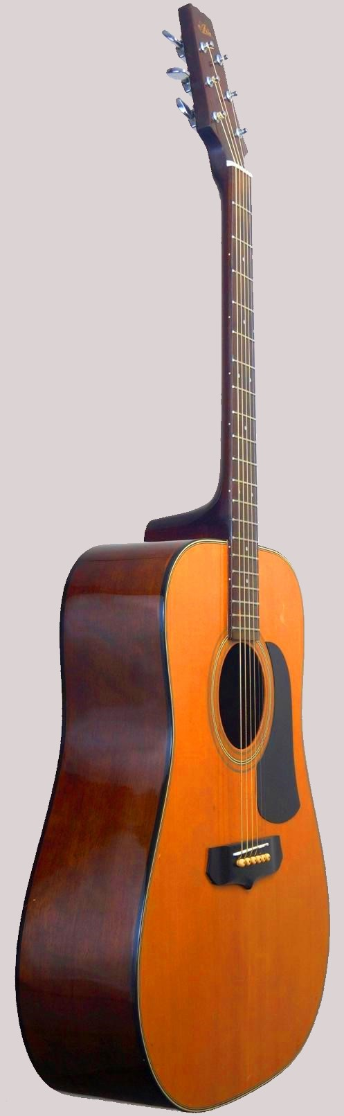 Japanese made spruce top 1986 aria guitar at Ukulele Corner