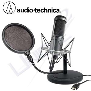 Micro vi tính Audio-Technica AT2020 USB Condenser USB Microphone