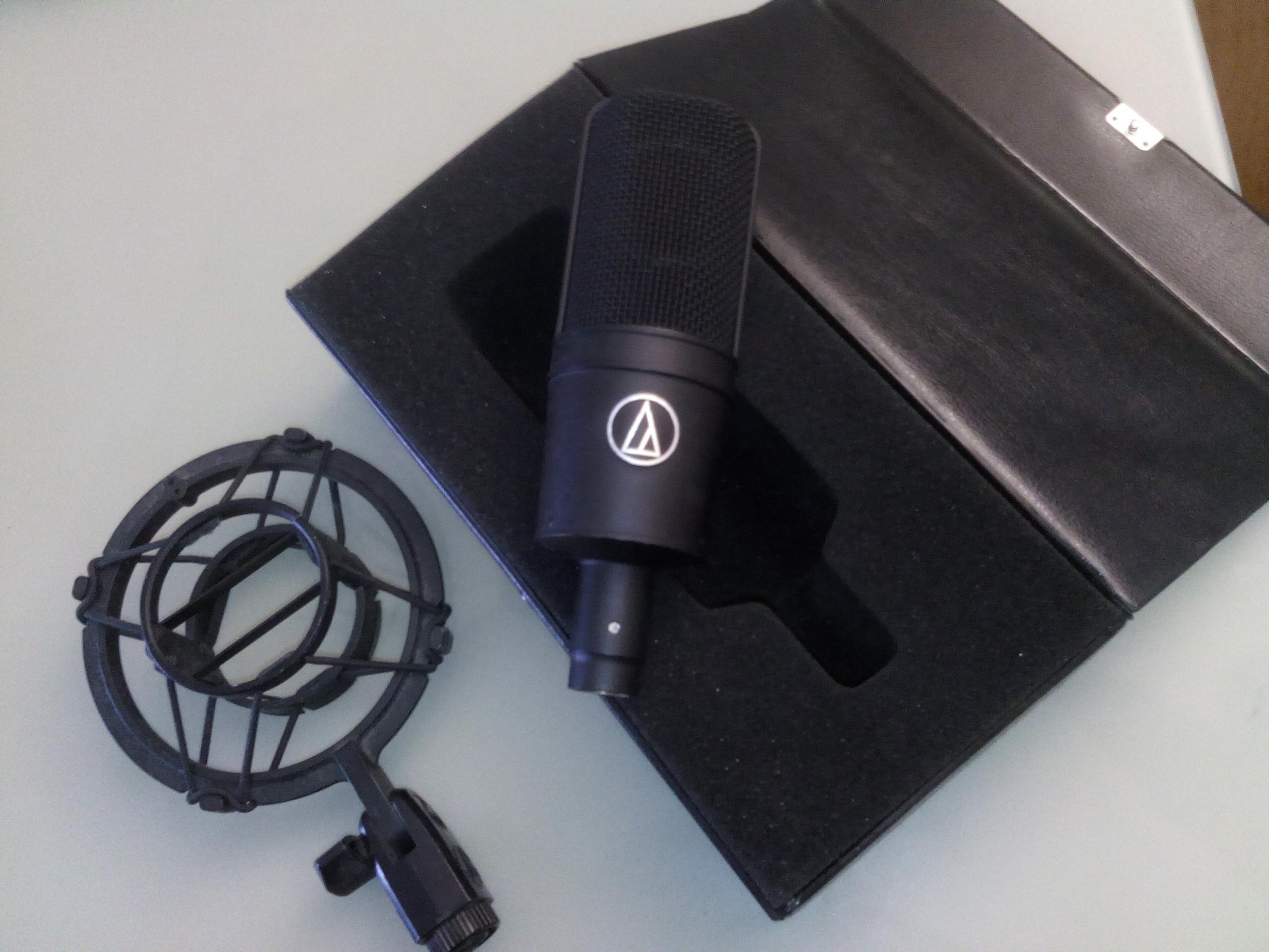 audiotechnica at4033 shockmount ile de france audiofanzine. Black Bedroom Furniture Sets. Home Design Ideas