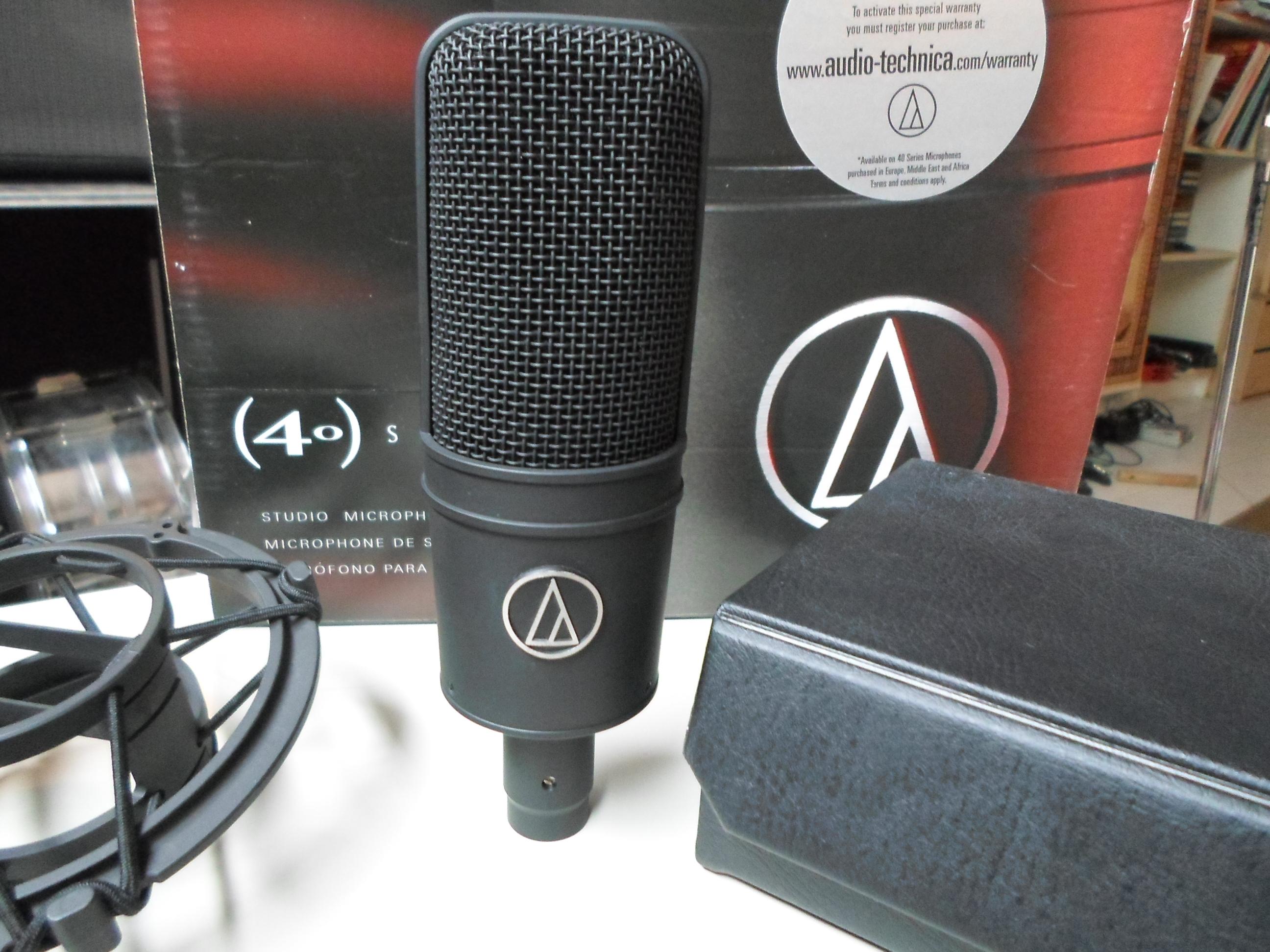 photo audio technica at4033 asm audio technica at4033 asm 27879 862026 audiofanzine. Black Bedroom Furniture Sets. Home Design Ideas