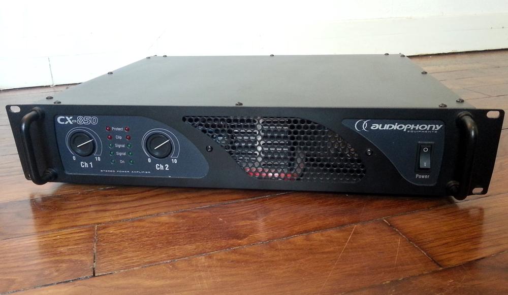 ampli sono audiophony cx-850