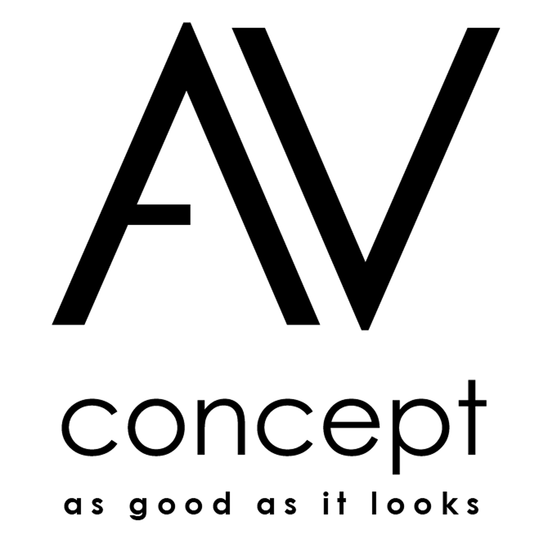 photo av concept products logo av concept slogan 577740 audiofanzine. Black Bedroom Furniture Sets. Home Design Ideas