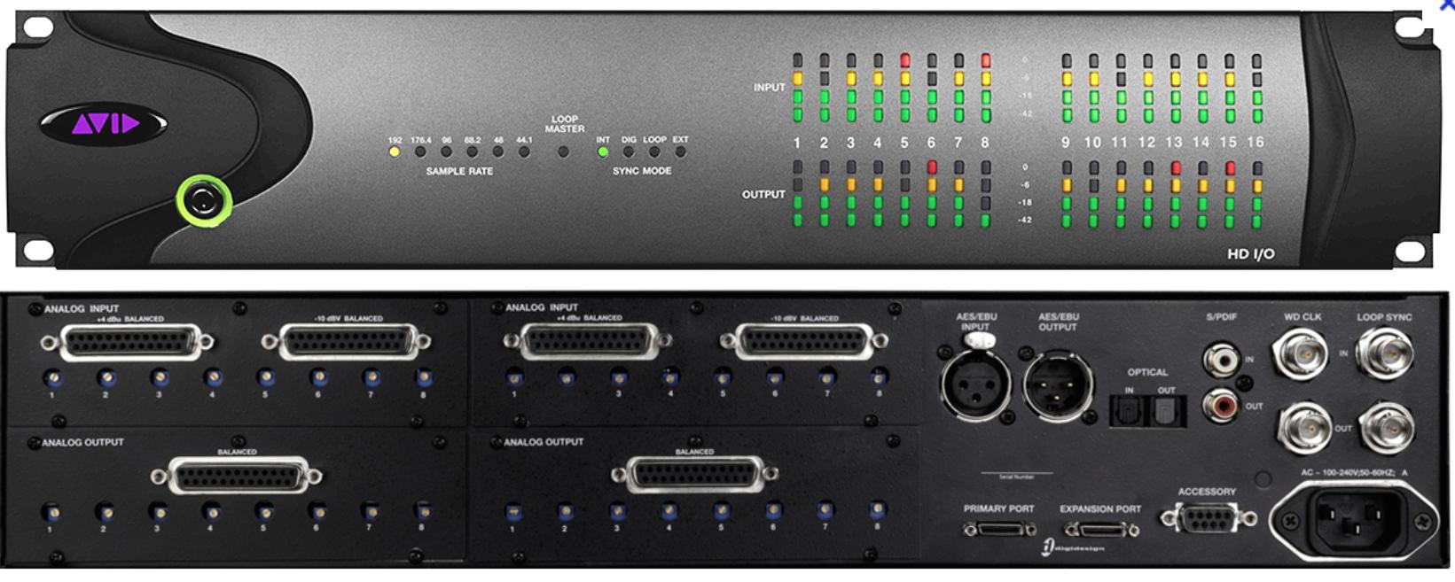 Avid HD I/O 8X8X8 image (#922113) - Audiofanzine