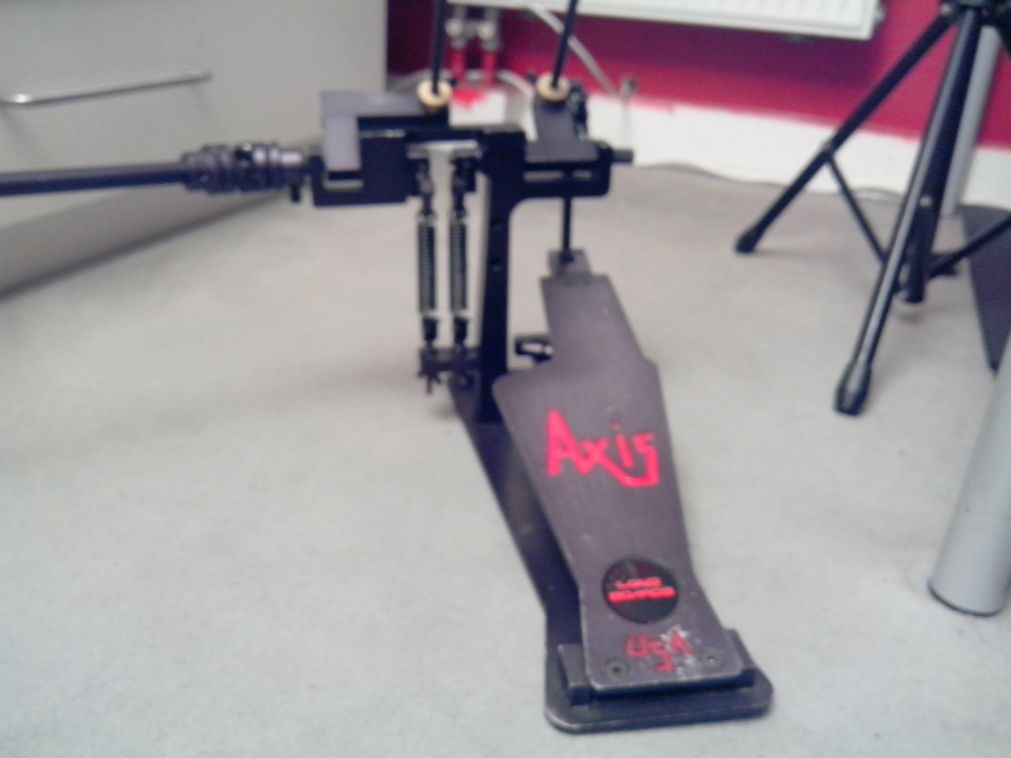 Axis Longboards Classic Black A Bass Drum Pedal Review ...