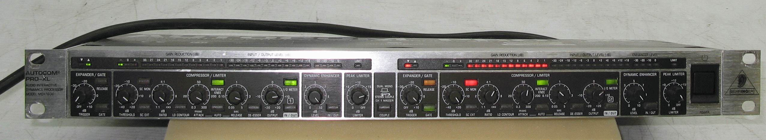 BEHRINGER AUTOCOM PRO-XL MDX1600 EPUB
