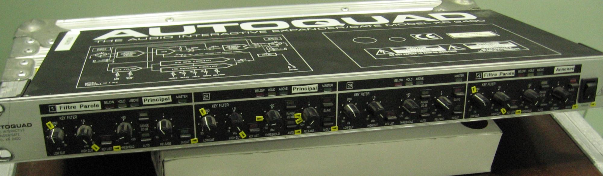 behringer autoquad xr2400 image 384782 audiofanzine rh en audiofanzine com Crossover Behringer Manuals Crossover Behringer Manuals