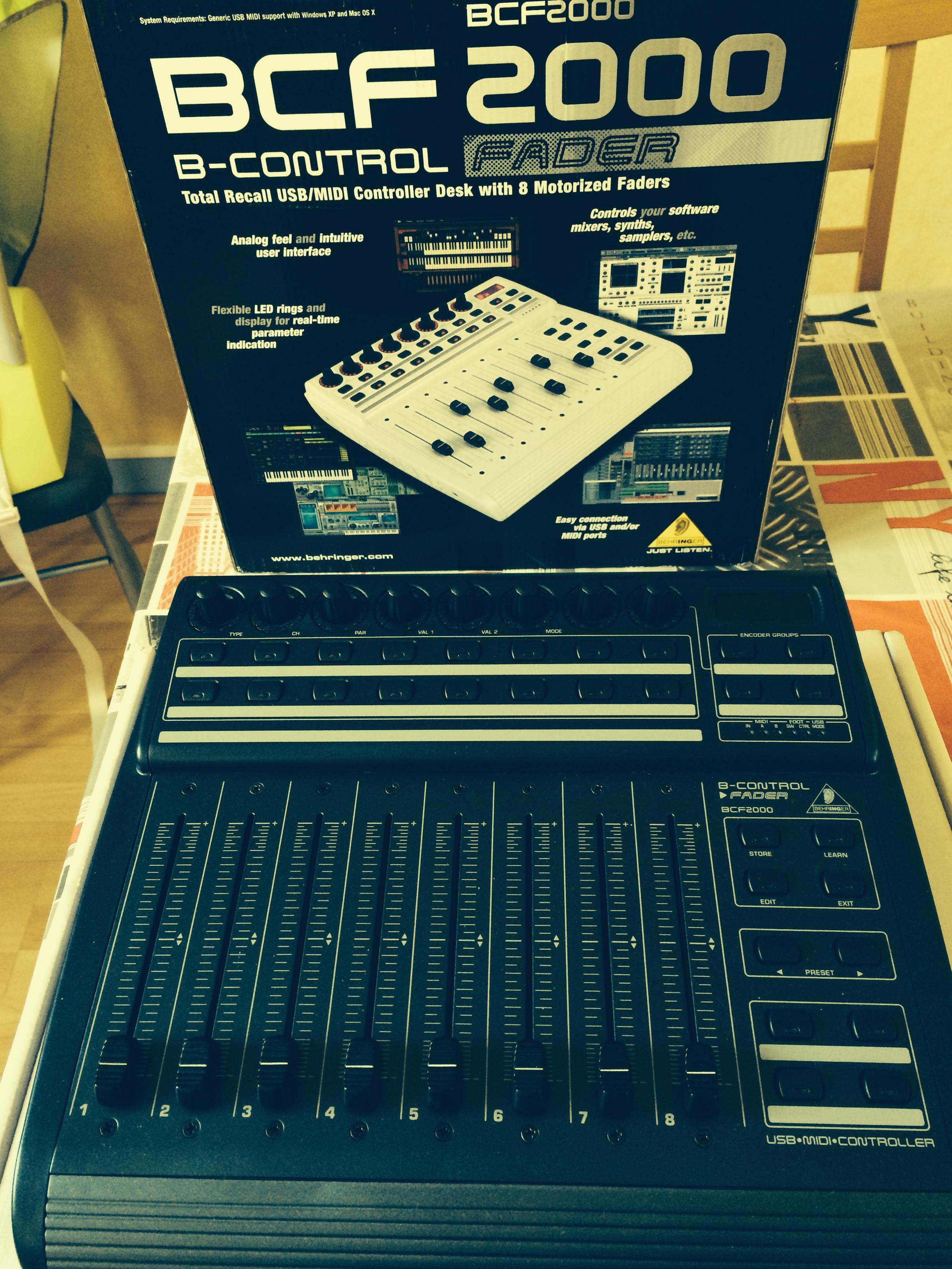 Behringer B Control Fader Bcf2000 Image 911433