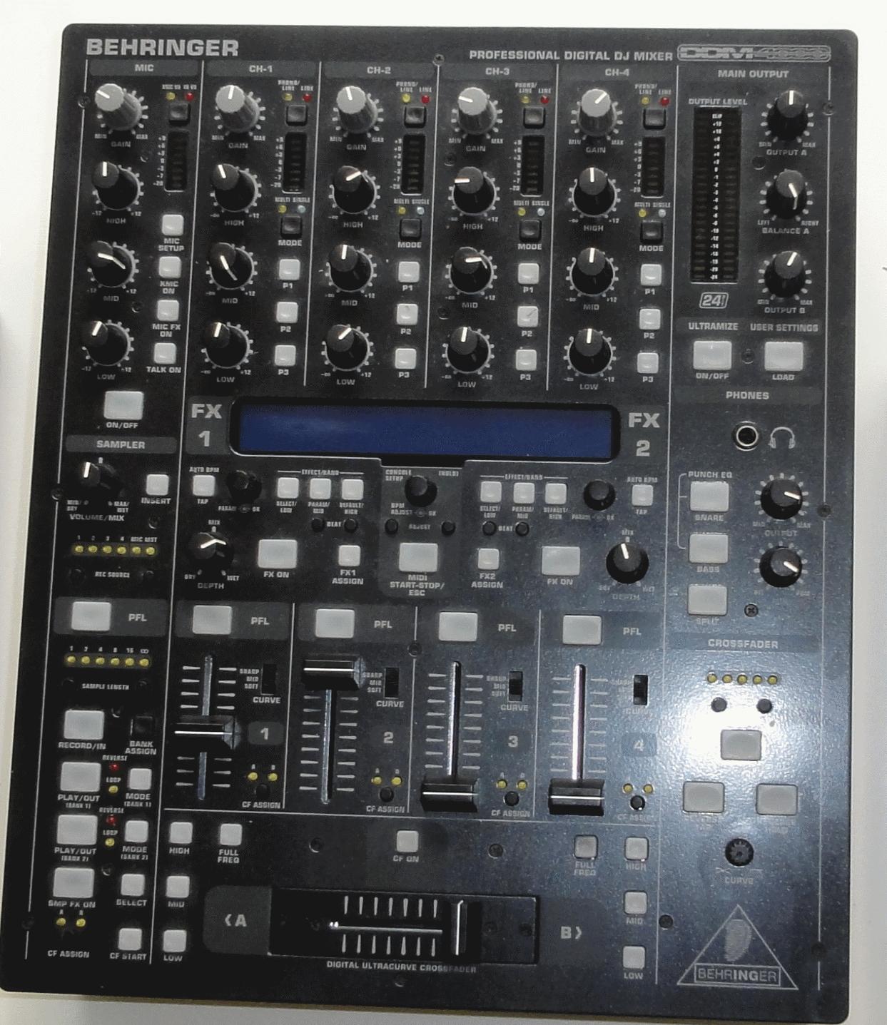 Behringer Ddm4000 Image 479448 Audiofanzine