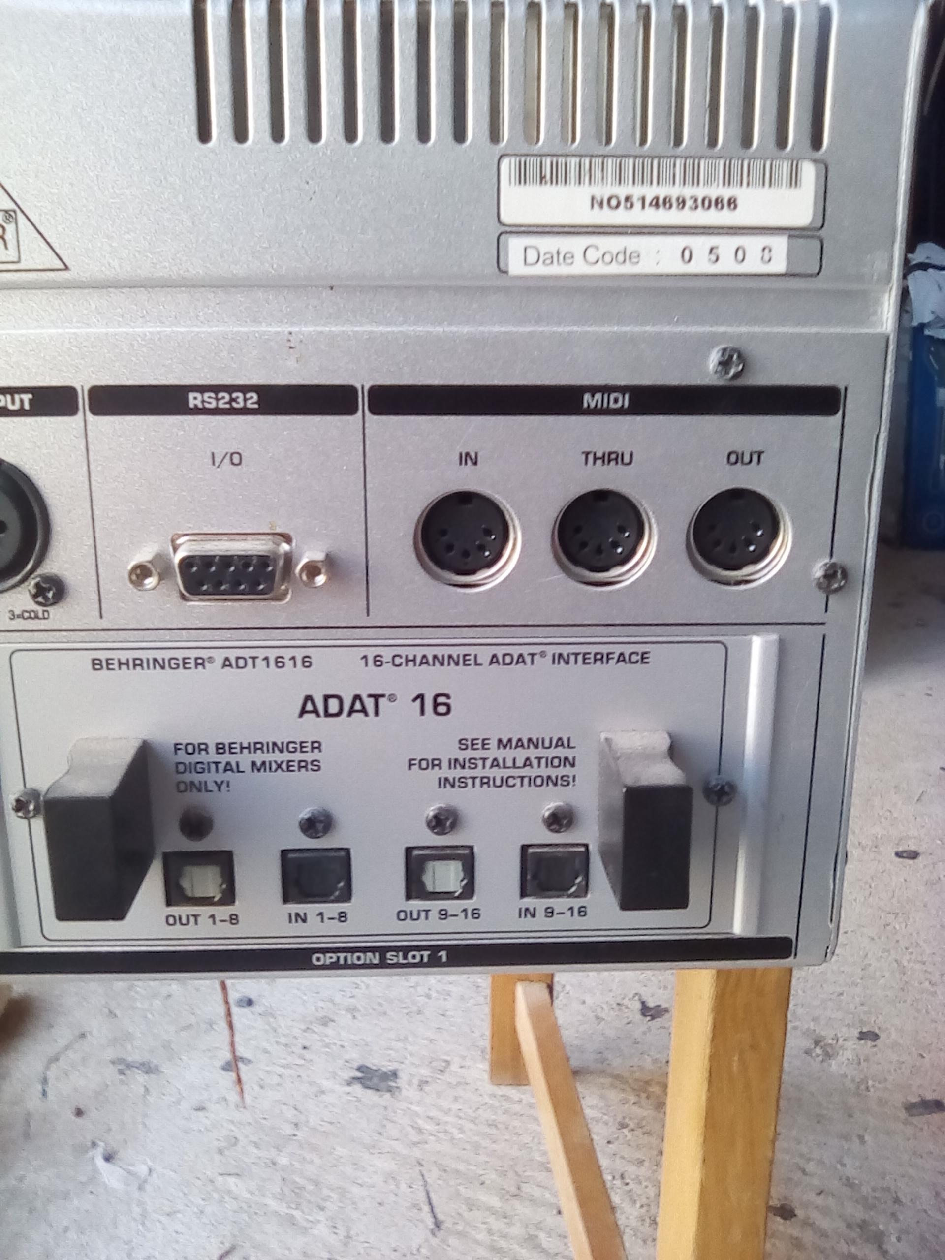 Photo behringer ddx3216 behringer ddx3216 71282 1536810 audiofanzine - Console numerique behringer ...