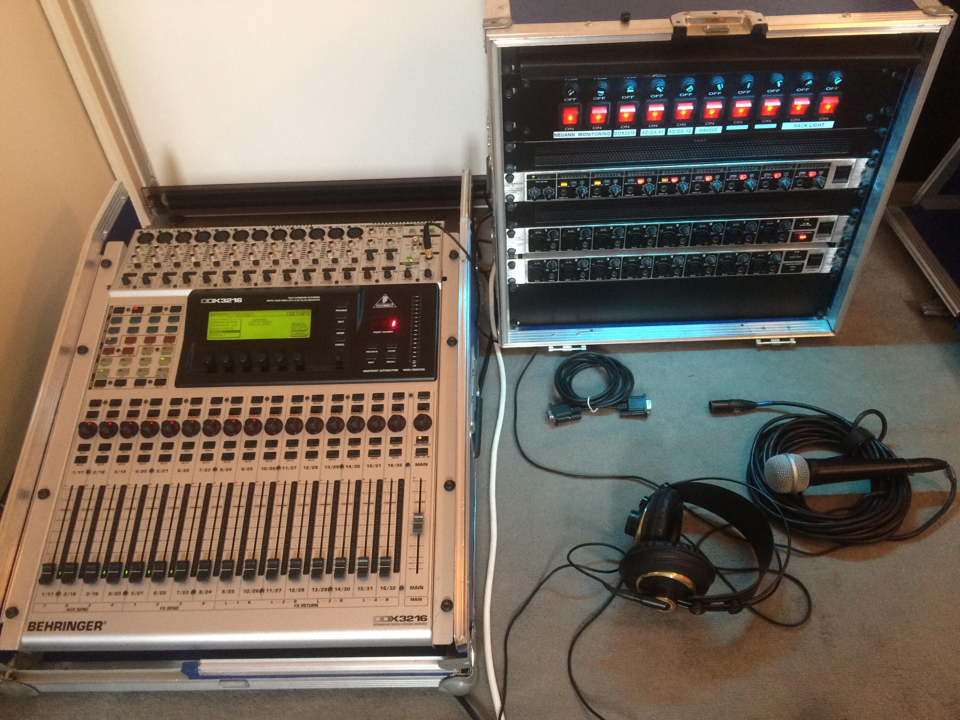 Photo behringer ddx3216 behringer ddx3216 69542 1622847 audiofanzine - Console numerique behringer ...