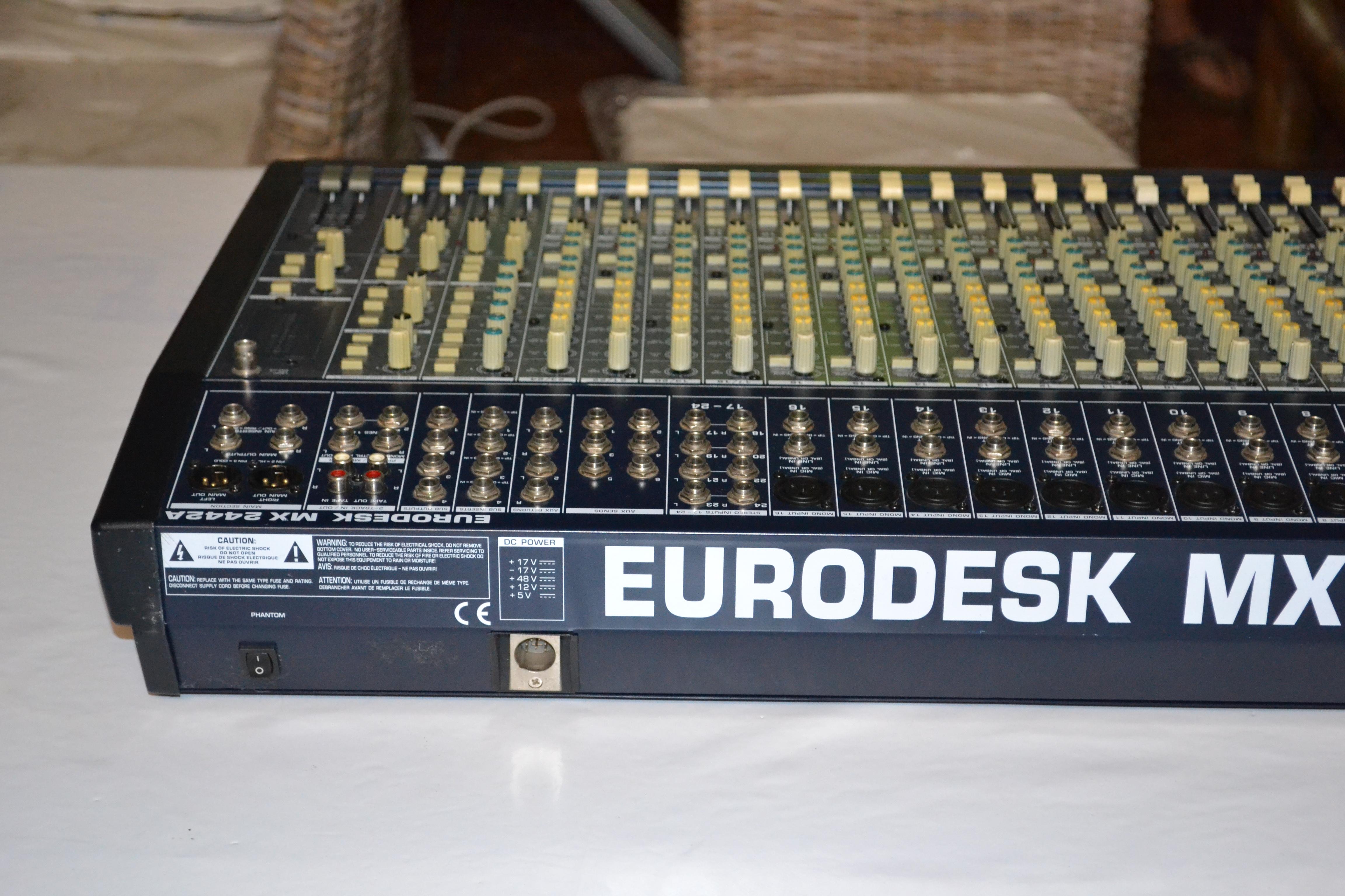 Behringer Eurodesk Mx2442a : behringer eurodesk mx2442a image 651979 audiofanzine ~ Russianpoet.info Haus und Dekorationen