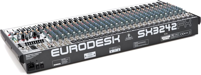 Behringer eurodesk mx2442a user manual