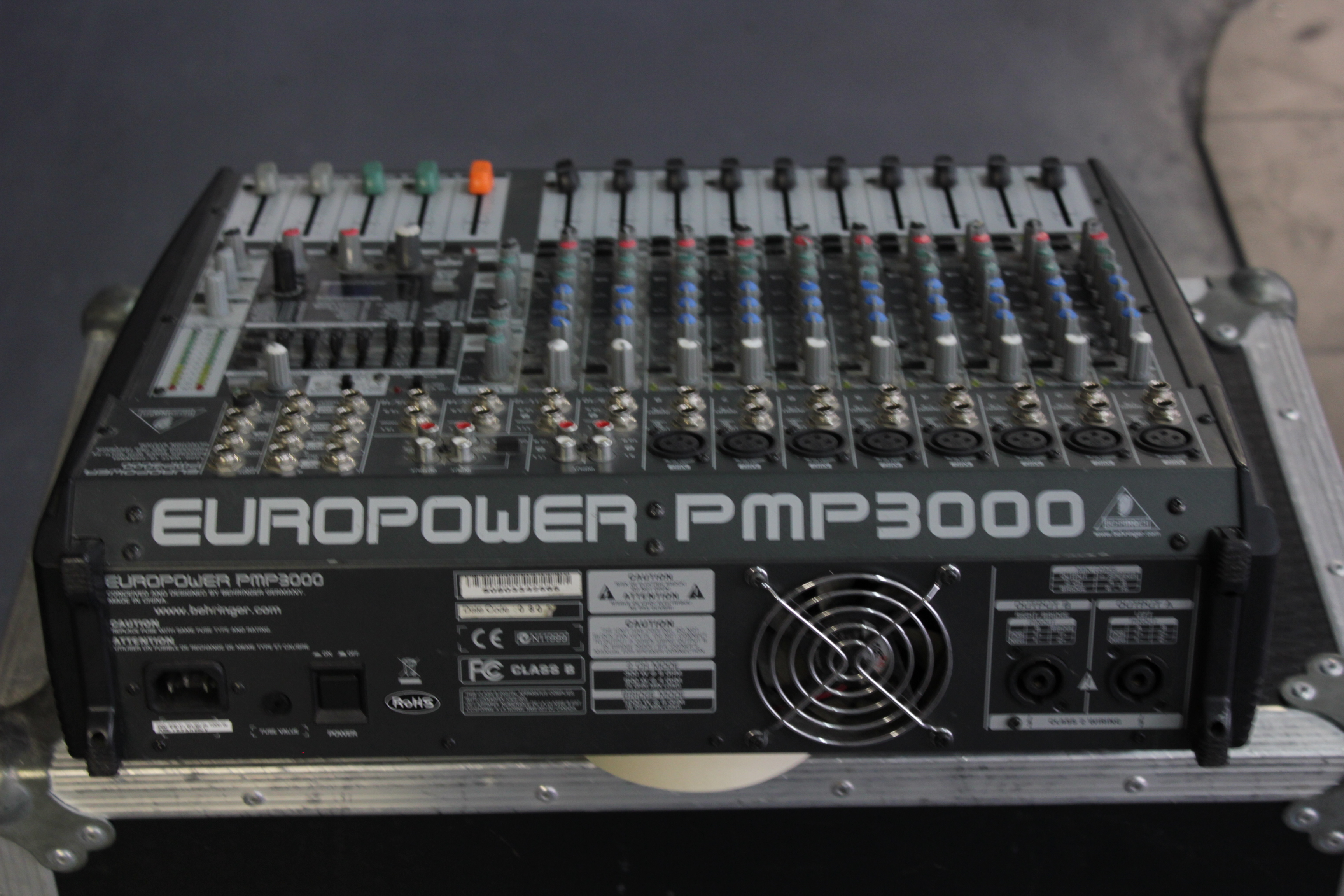 Behringer pmp 3000 europower схема