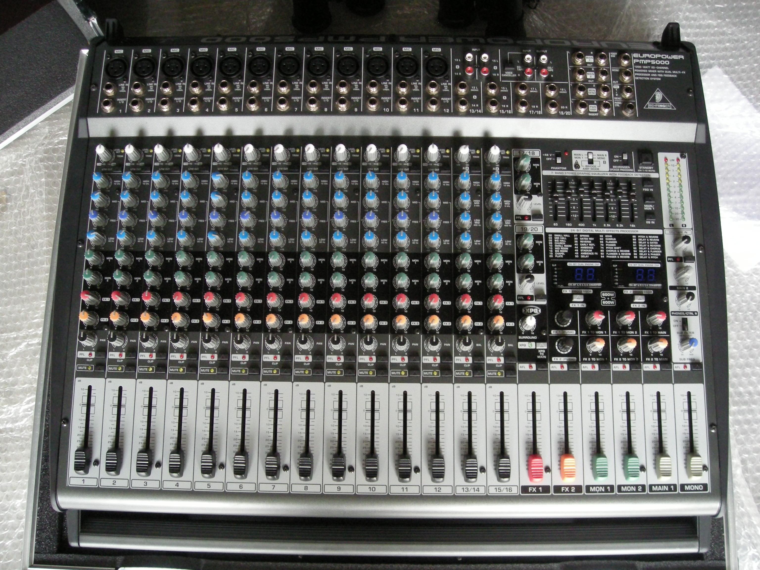 Behringer Europower Pmp5000 Image 786003 Audiofanzine