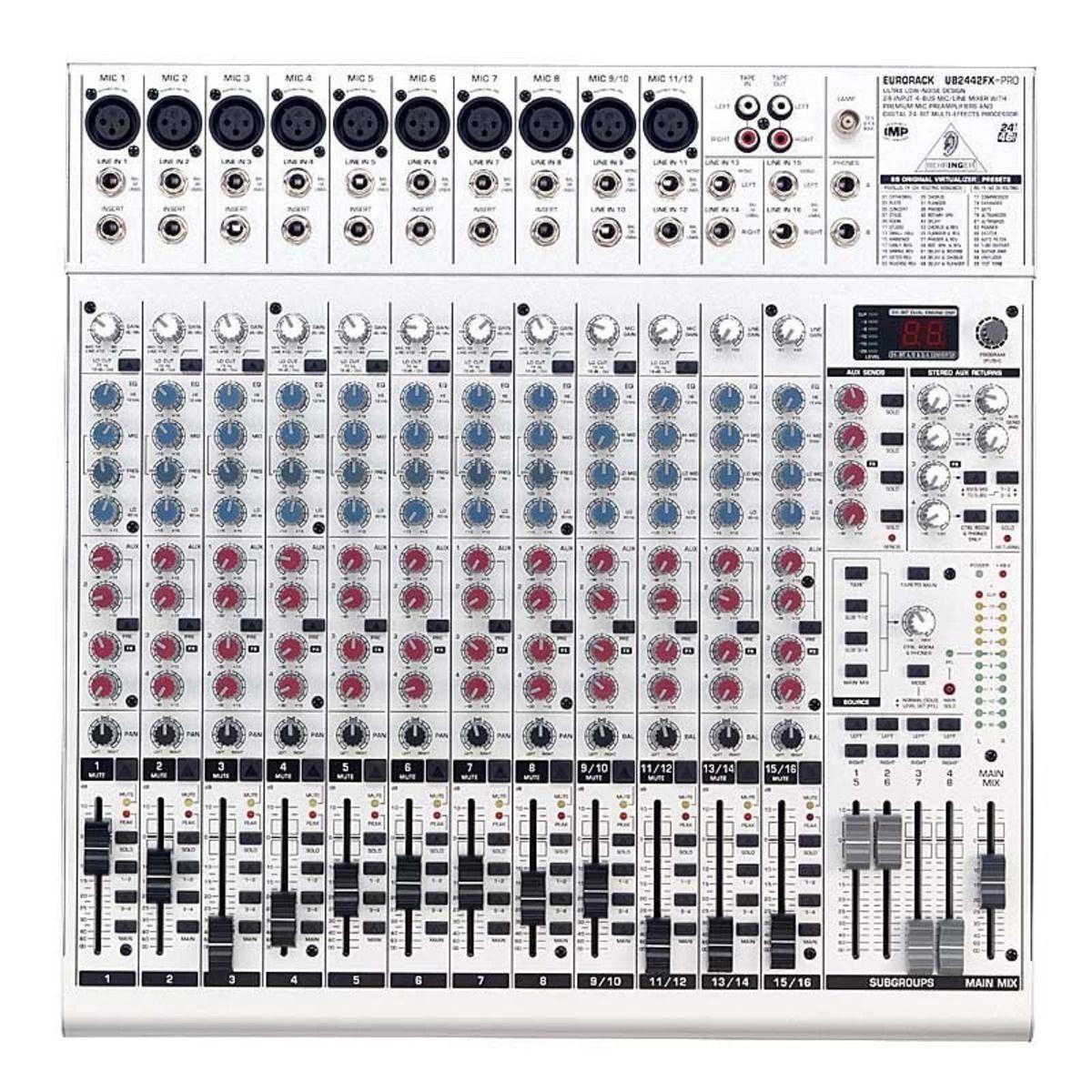 behringer eurorack ub2442fx pro image 38272 audiofanzine rh en audiofanzine com behringer eurorack ub2442fx-pro mixer review behringer eurorack ub2442fx-pro mixer review