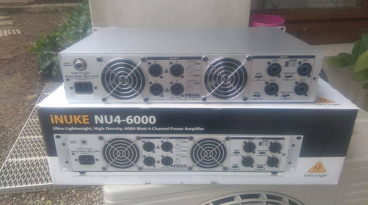 behringer inuke nu4 6000 manuel d'utilisation