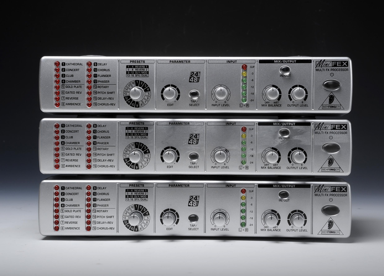 Behringer Minifex Fex800 Image 557216 Audiofanzine