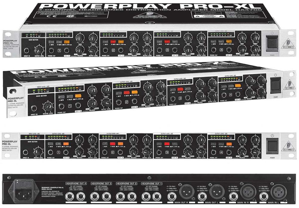 behringer powerplay pro xl ha4700 image 699028 audiofanzine rh en audiofanzine com Crossover Behringer Manuals Behringer X32 Manual
