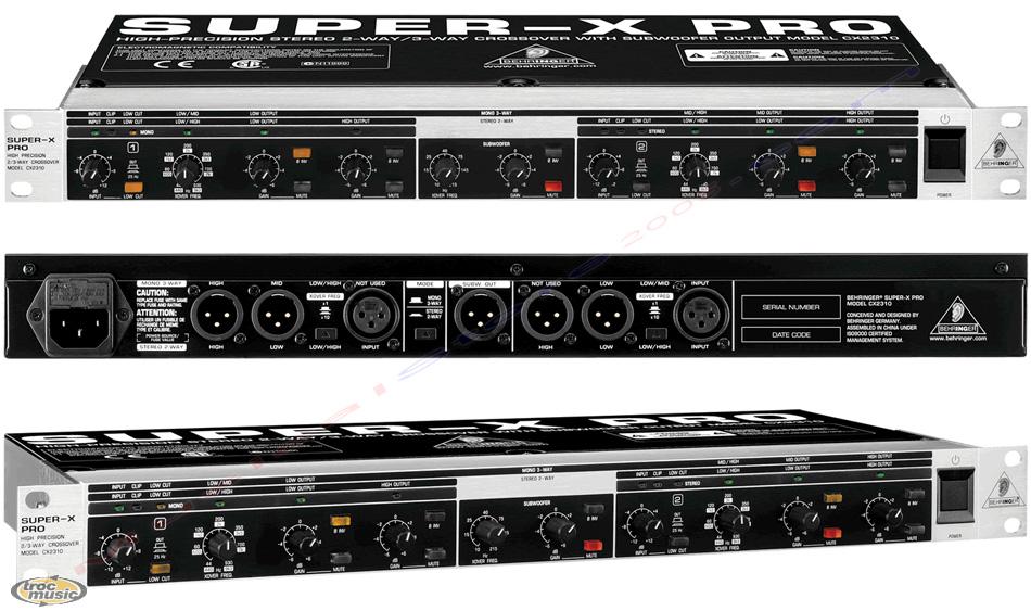 behringer super x pro cx2310 image 1696651 audiofanzine rh en audiofanzine com behringer cx2310 manuel crossover behringer cx2310 manual