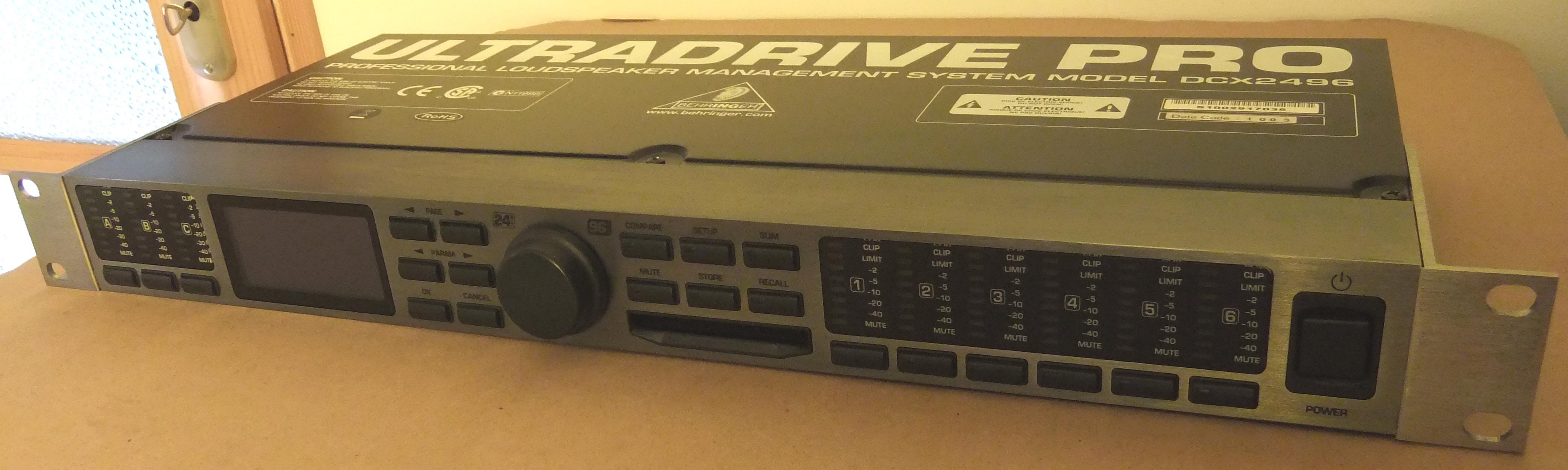 Behringer DCX24Ultradrive Pro Digital Crossover System
