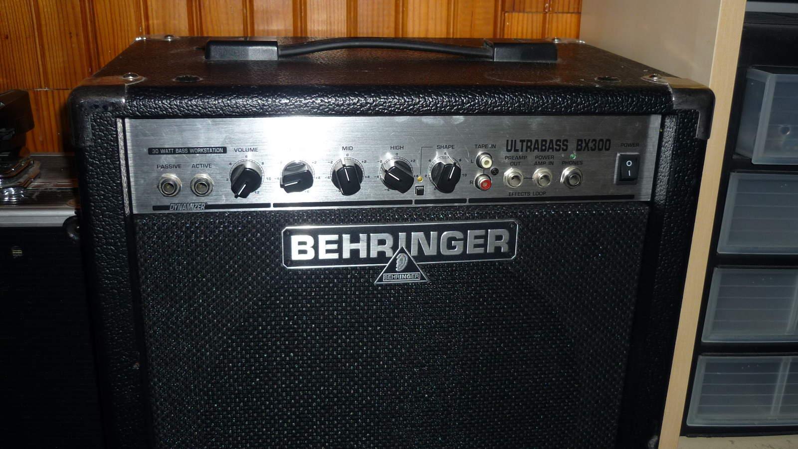 Behringer Ultrabass Bx300 Image 182009 Audiofanzine