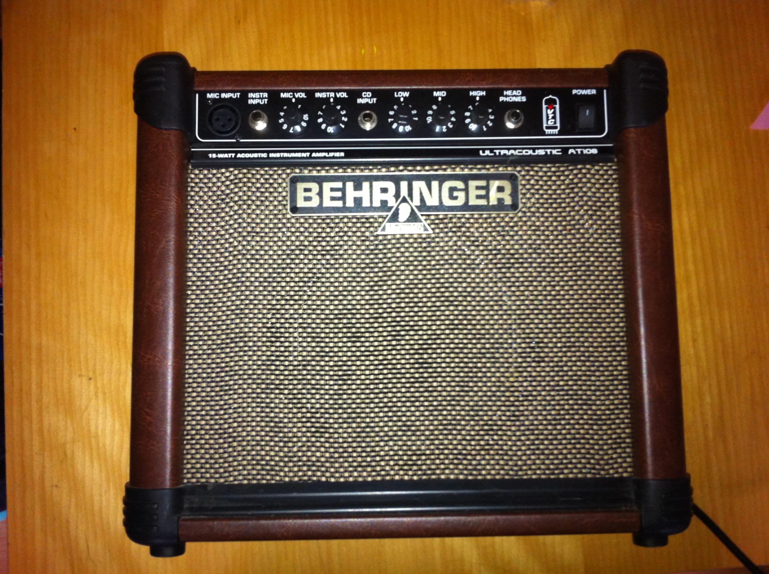 behringer ultracoustic at108 image 755917 audiofanzine. Black Bedroom Furniture Sets. Home Design Ideas