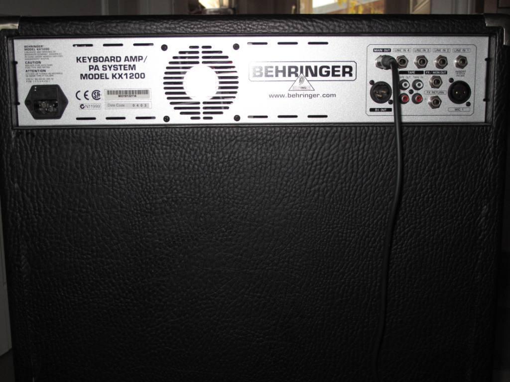 Behringer Ultratone Kx1200 Image 62684 Audiofanzine