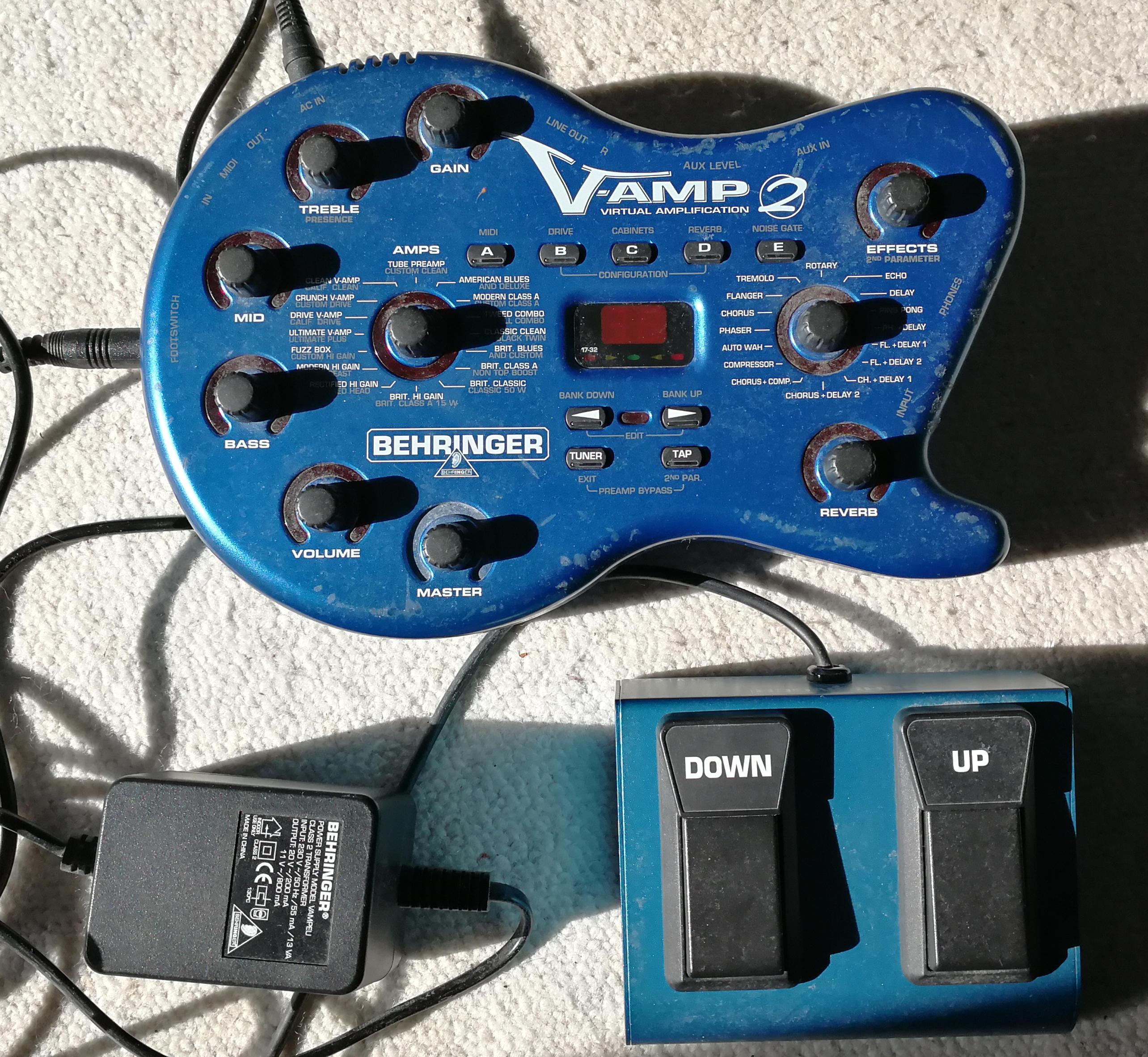 how to use behringer v amp 2