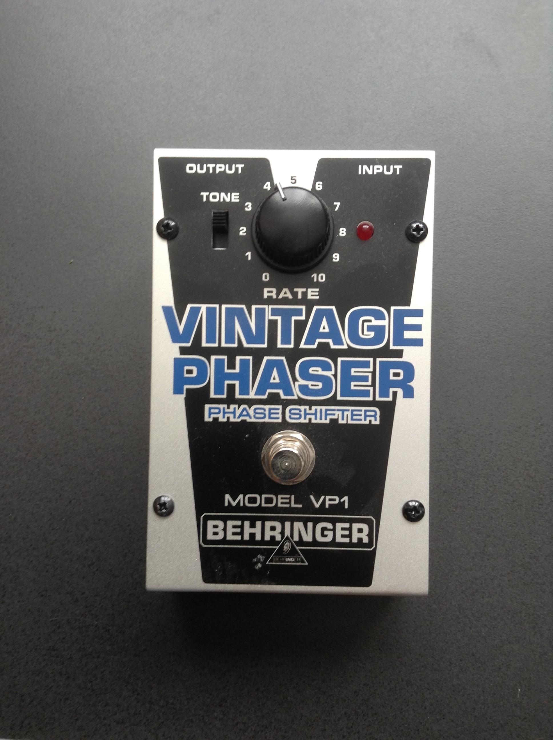 Behringer Vintage Phaser Vp1 Reviews Amp Prices Equipboard 174