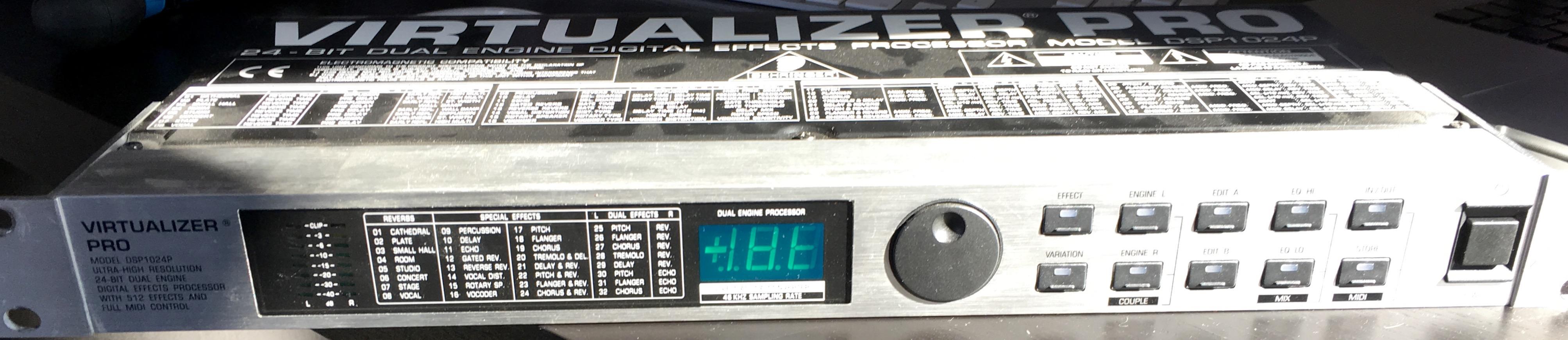 behringer virtualizer pro dsp2024p manual