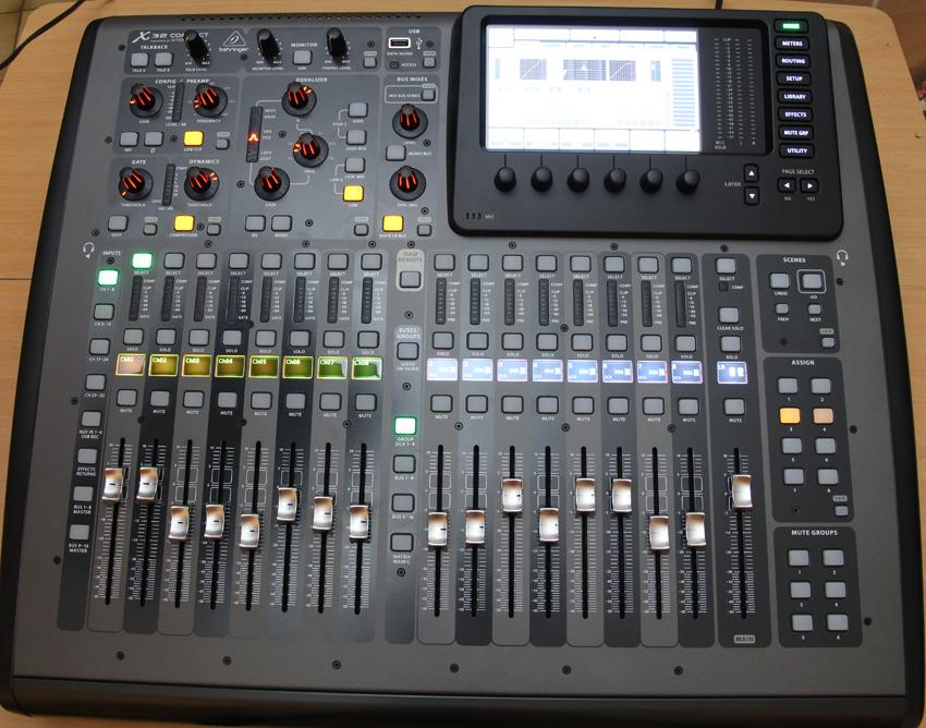 behringer x32 producer инструкция на русском