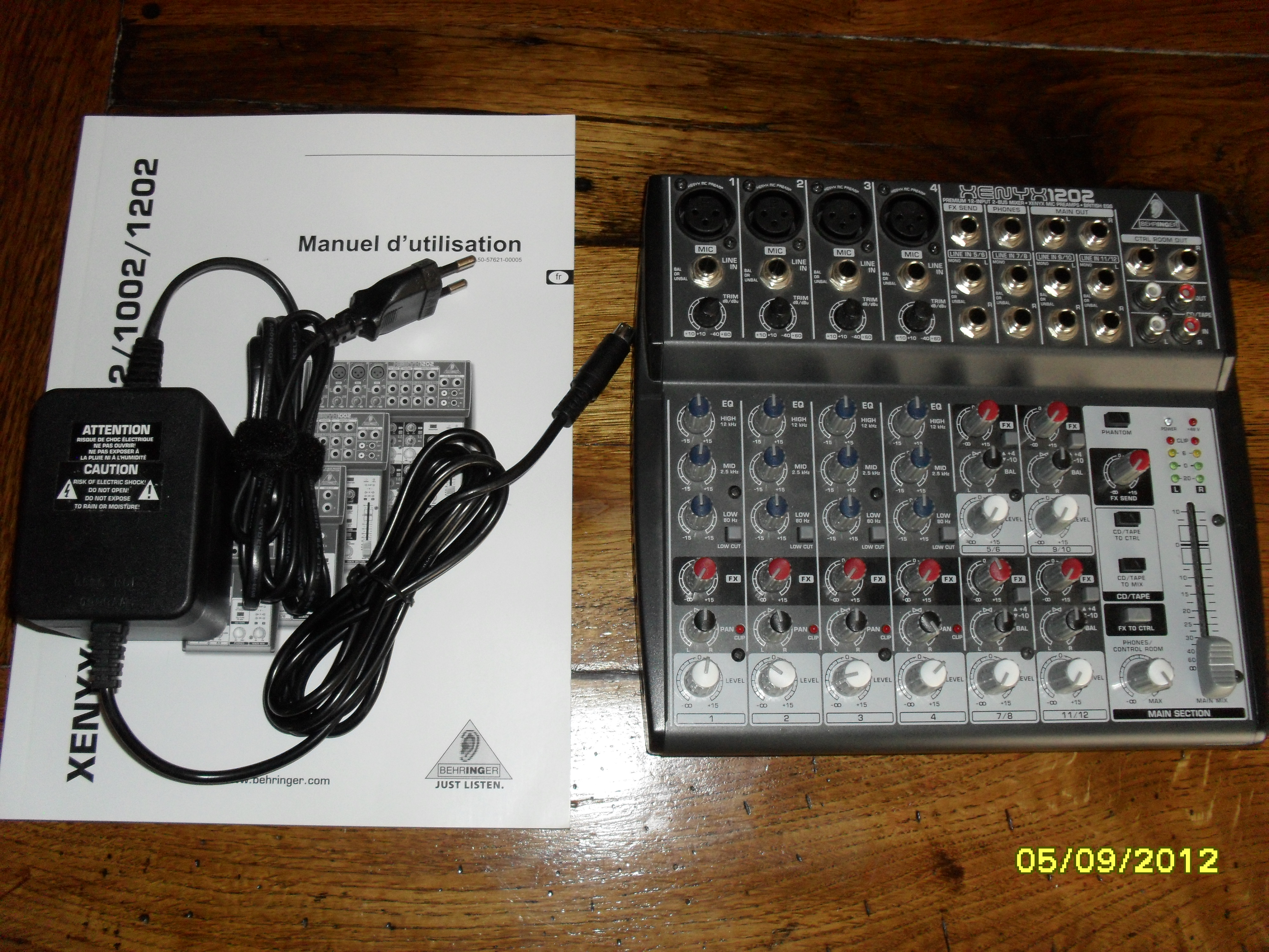 Behringer Xenyx 1202 Image 448506 Audiofanzine