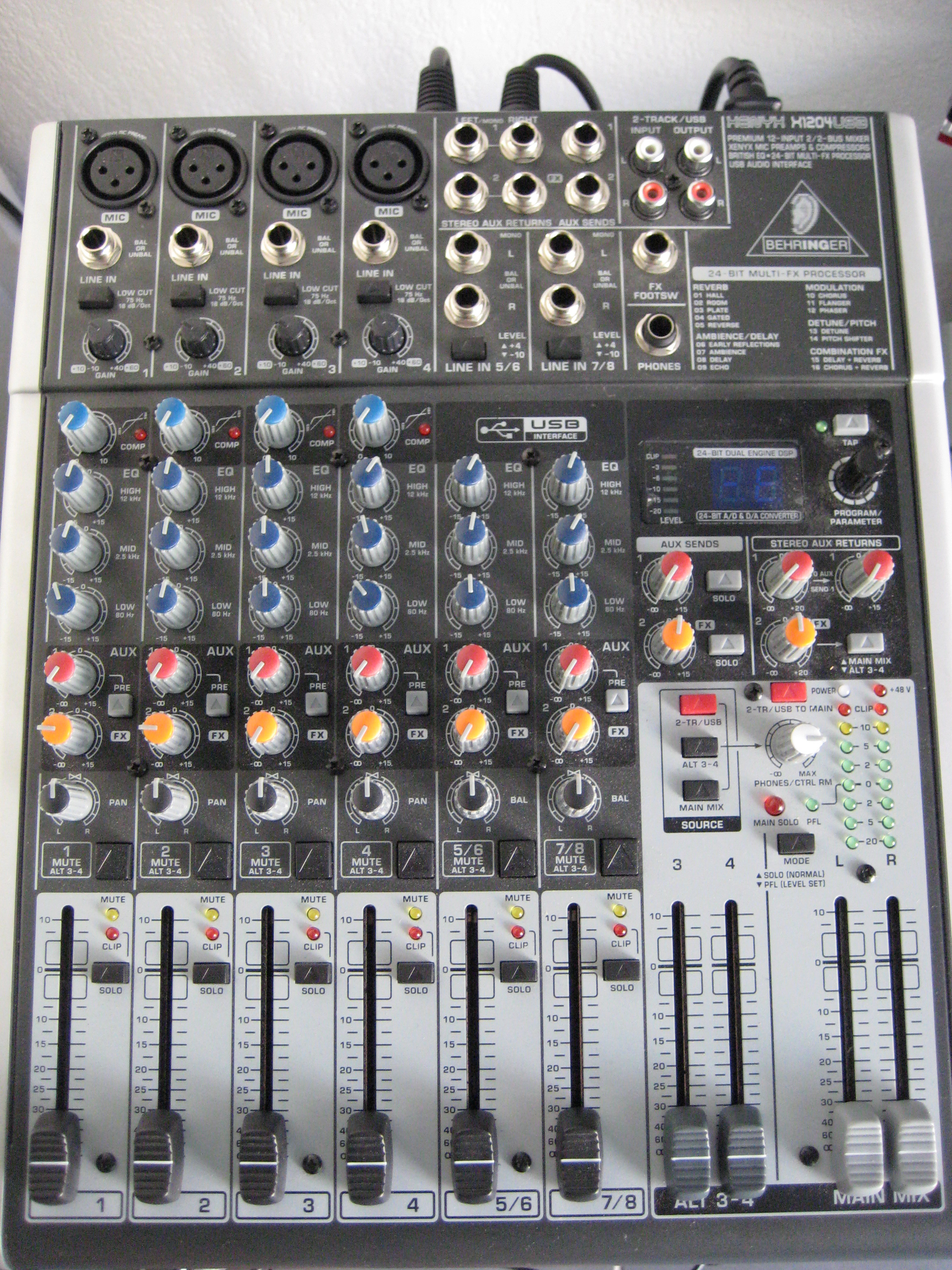 Setting-up A Behringer Xenyx X1204USB For Skype Calls [Archive] - MUSIC  Tribe Global Community