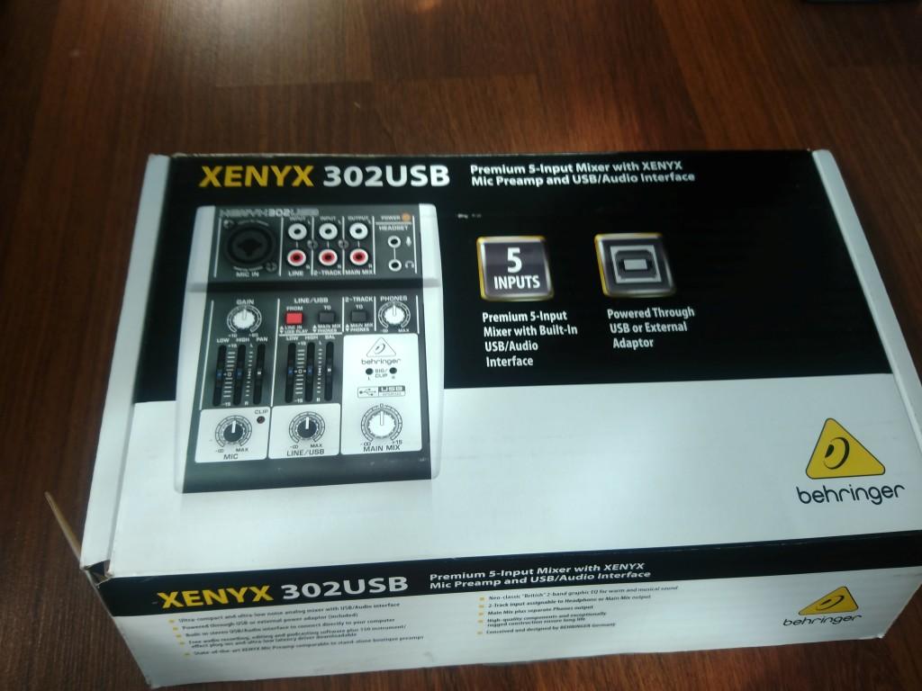 xenyx 302usb behringer xenyx 302usb audiofanzine. Black Bedroom Furniture Sets. Home Design Ideas