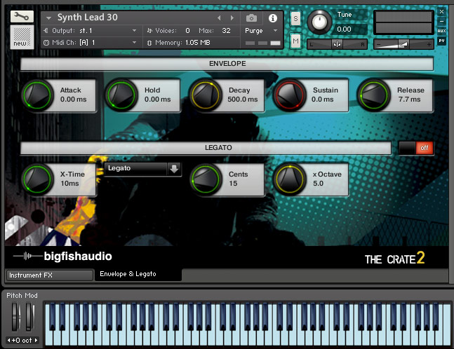 The crate 2 big fish audio the crate 2 audiofanzine for Big fish audio
